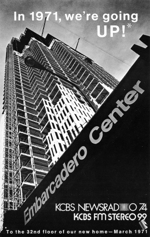 KCBS Moves To Embarcadero Center (1971)
