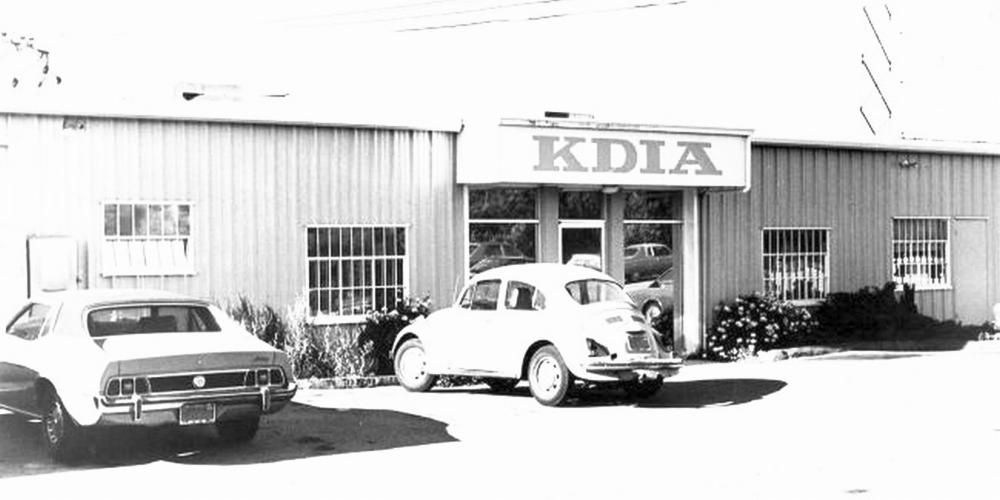 KDIA Studio Building (Photo, Circa 1976)
