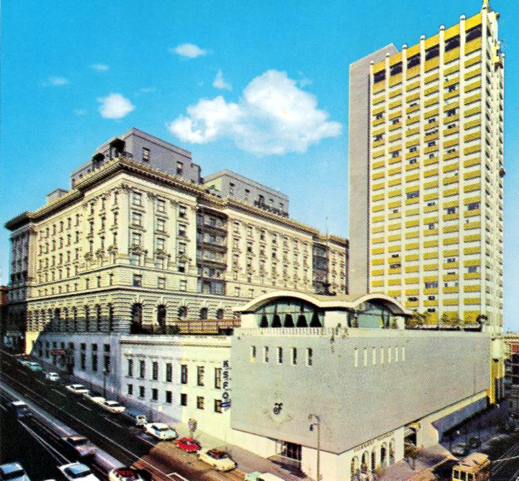 Crown Room Fairmont Hotel San Francisco Ca