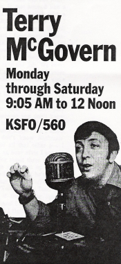 Terry McGovern (KSFO ad, 1969)