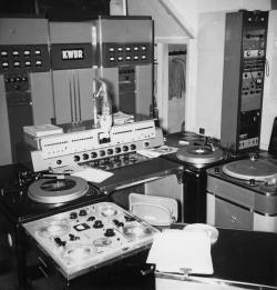 KWBR Studio, December 1953