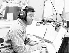 Dr. Don Rose at WFIL, 1971