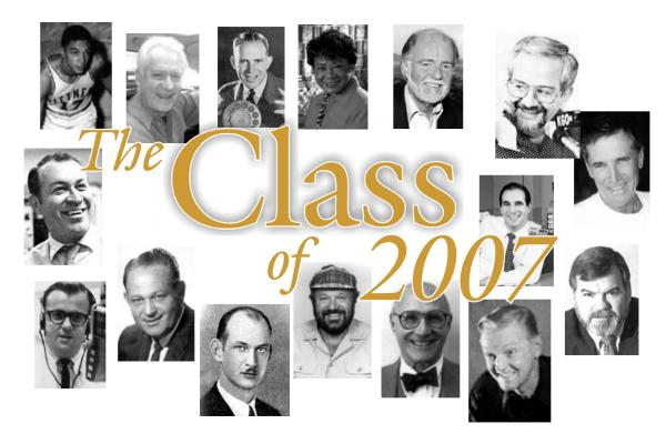 Bay Area Radio Hall of Fame 2007 (Montage Photo)
