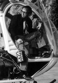 KYA News Director Brad Messer in 1969