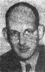 Frank Cope, from a photograph published in the Chronicle (1953)