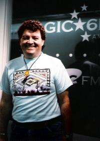 John Mack Flanagan at KFRC-FM, 1992