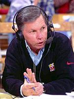 Johnny Holliday began his 25th season as the play-by-play voice of University of Maryland football and basketball in 2004.