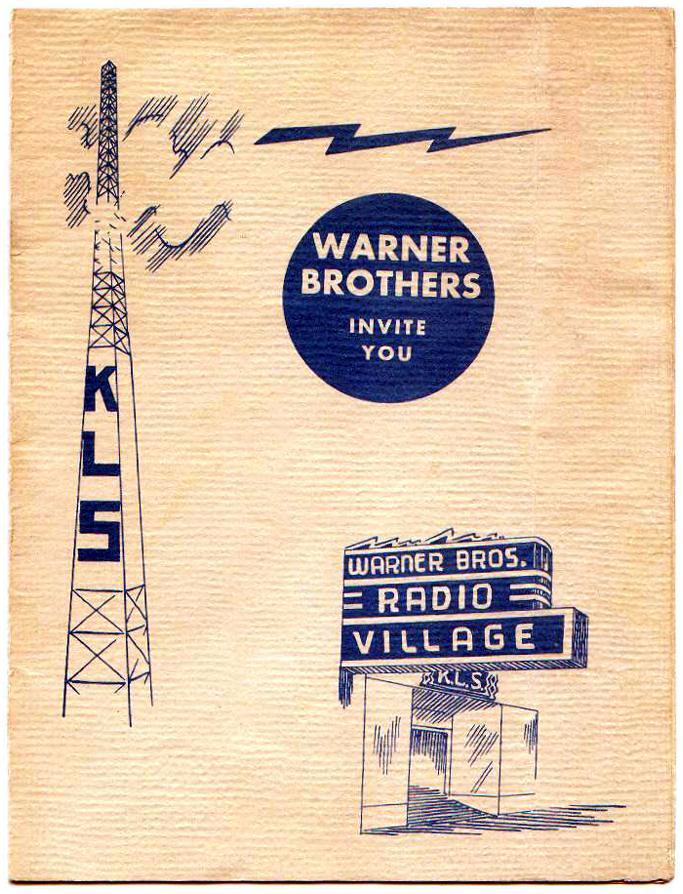KLS Warner Bros Brochure (Image)