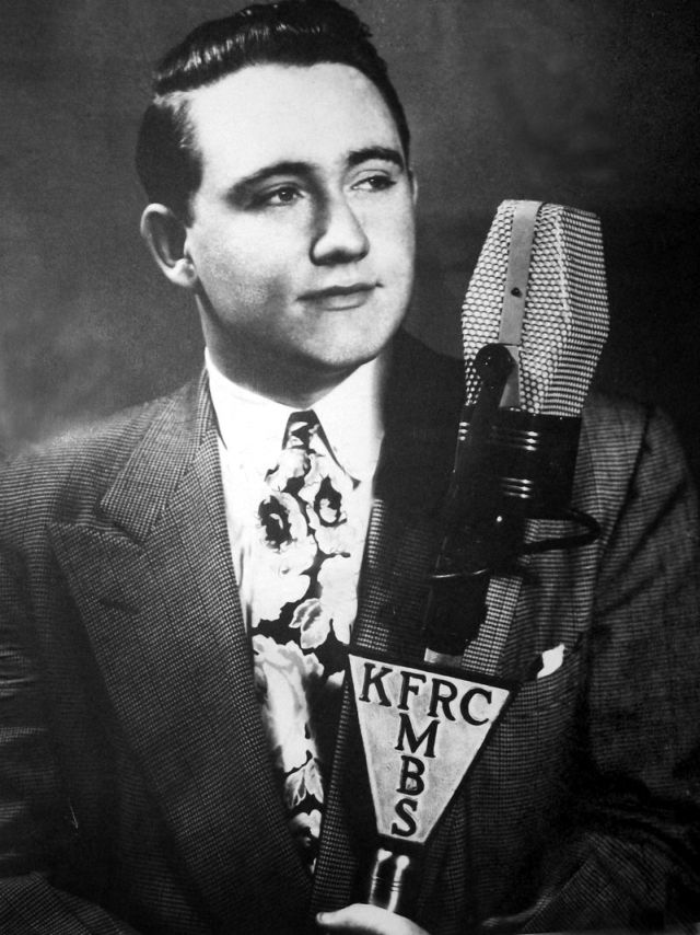 Merv Griffin at San Francisco's KFRC