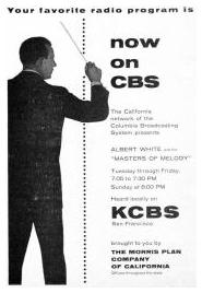 KCBS Masters Of Melody Ad