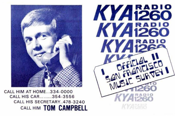 Tom Campbell (KYA Survey, March 22, 1969)